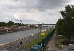 Sluserne ved Kiel 9. august 2013