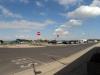 Udsigt over lidt af havnen i Bøjden  3. august 2012