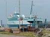 Odin Sydfyen i rederiets gamle farver - 31. juli 2009