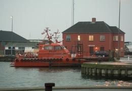 Pilotbåden Starkad 27. december 2009