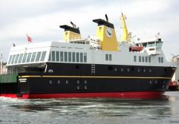 Ærøskøbing i dens nye farve 2. juni 2013