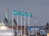 Forsea Ferries nye flag ved Terminalen i Helsingør 8. februar 2019