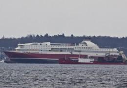 Bergensfjord 14. marts 2013