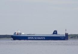 Corona Seaways ved Ålsgårde 24. maj 2013