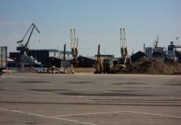 Dolphin Jet's havneanlæg i Kalundborg 27. maj 2012