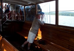 Ombord på Hjejlen 30. juli 2002