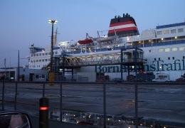 Jens Kofoed efter vi var kørt fra, efter en god tur til Bornholm 26. juli 2003 21:34