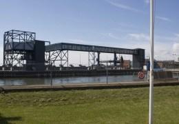Det nye havneanlæg til de ney færger Berlin og Copenhagen 22. juli 2012