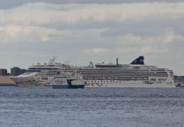 Norwegian Star ved Helsingør 25. maj 2013